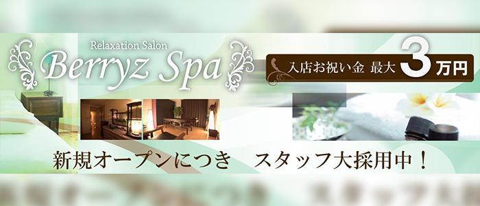 東京メンズエステリラクゼーションサロン「Berryz Spa」のバナー画像