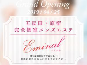 五反田・原宿完全個室サロン『EMINAL-エミナル-』
