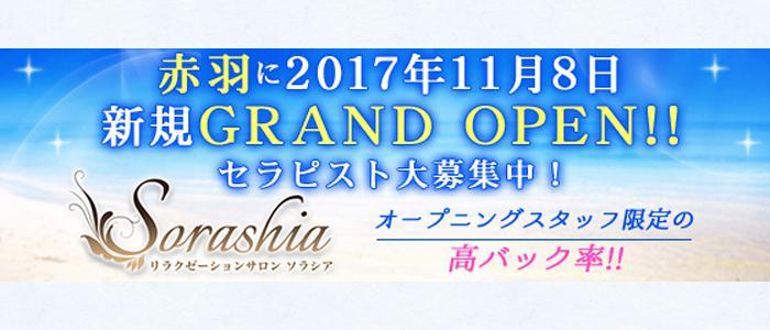東京メンズエステ隠れ家リラクゼーションサロン『Sorashia 』のバナー画像